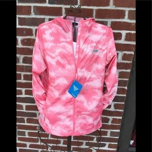 COLUMBIA WOMENS PFG MORNING VIEW WINDBREAKER